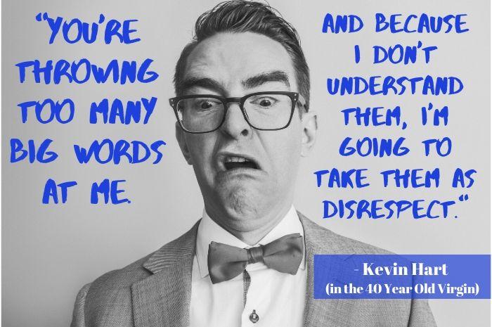 Big Words - Disrespect